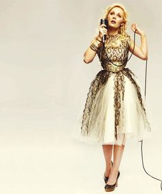 LOVE Clare Bowen, who plays Scarlett on the TV show, Nashville... She has a cool, kind of vintage look.