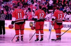 11,12,13 today's date funny how relatable hockey is to life.<3 #11 Jordan Staal #12 Eric Staal #13 Jared Staal Carolina Hurricanes