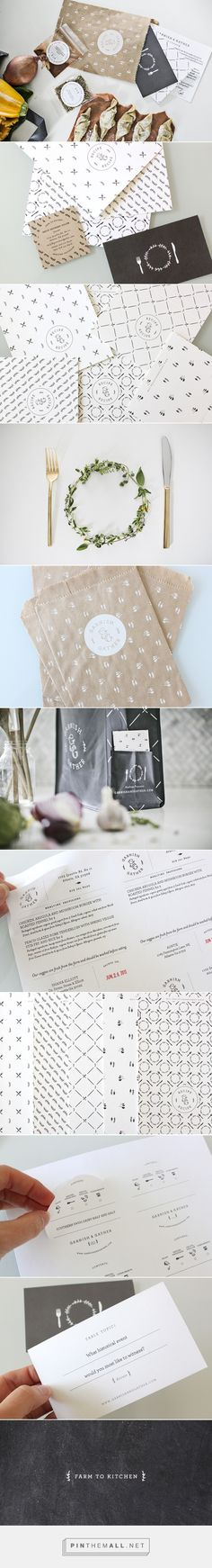 Garnish & Gather by Stitch Design Co curated by Packaging Diva PD. Yummy packaging and best of all this company's based in Atlanta - created via http://pinthemall.net