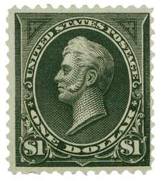 US 1 00 black hinged just a speck of a thin otherwise VF Scott 1 250 Rare Stamps, Vintage Stamps, Veteran Car, Mystic, 19th Century, United States, Gems, Mint, History