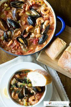 Casserole Recipe : Seafood Cioppino