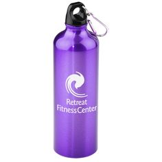 Custom aluminum water bottles keep your logo strong and steady--24HR!