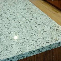 Contemporary Countertop from Glass Recycled