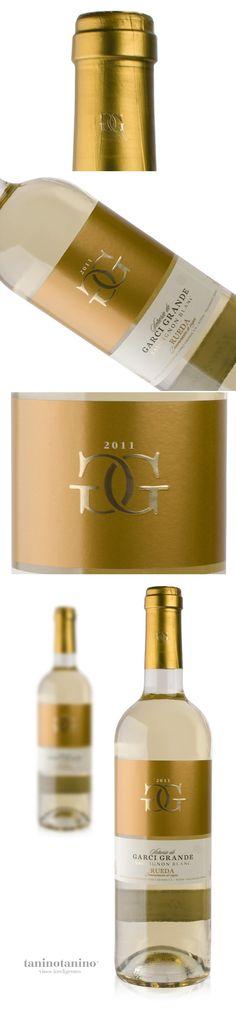 GARCI GRANDE SAUVIGNON BLANC 2011 HISPANO BODEGAS  taninotanino vinos inteligentes  wine of spain
