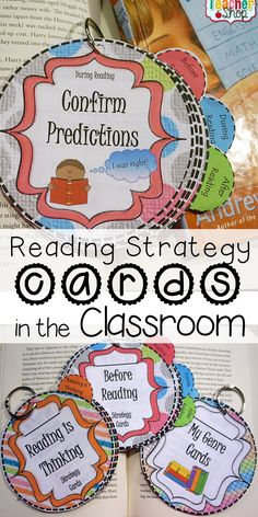 Read about Using Reading Strategy Cards in the Classroom!