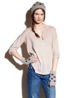Fall 2014 Women  68-8510 68-7288 68-7423 Autumn, Fall, Cashmere, Blouse, Long Sleeve, Sleeves, Tops, Women, Fashion