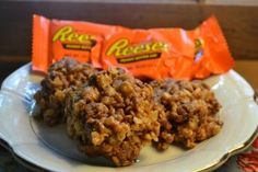 Reeses Rice Krispies Treats