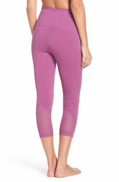 71cdc271858 Zella  Hatha  High Waist Crop Leggings Yoga Pants