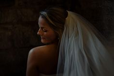 Bride with veil. Fine art wedding photographer, Harrogate www.toastofleeds.co.uk