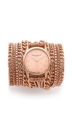 All Chain Wrap Watch