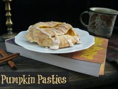 Pumpkin Pasties, inspired by Harry Potter