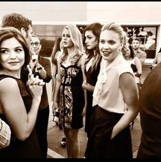 Danielle Campbell, Leah Pipes, Joseph Morgan, Phoebe Tonkin, and Claire Holt The Originals Tv Show, Klaus The Originals, Originals Cast, Vampire Diaries The Originals, Davina Claire, Claire Holt, Danielle Campbell, Vampire Diaries Spin Off, The Orignals
