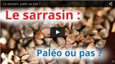 Vous connaissez certainement la farine de sarrasin: elle sert à confectionner les fameuses galettes de blé noir bretonnes, ou encorecertaines recettes de