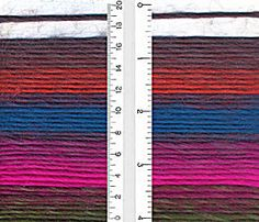 Landscapes Yarn by Lion Brand is a single ply roving style yarn which is warm and cozy for cooler months. A soft 100% acrylic which is available in beautiful self striping patterns and a large array or coordinating solids. If you like vibrant color palettes you will absolutely love Landscapes yarn. This yarn is machine washable which makes it idea for knitting or crocheting up some warm squishy sweaters and cold weather accessories! Sold By Ewe For You