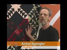 Patchwork Flying Geese com Airton Spengler | Vitrine do Artesanato na TV - YouTube