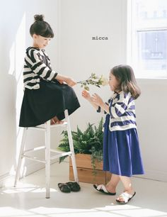 New Summer styles by Micca! Micca's clothing has a girly look with a touch of cuteness. The design style is best characterized as French romantic. The products are well-made with comfortable fabrics. More at: www.kkami.nl/product-category/micca/  #Micca #Summer2017 #kidsfashion #kidsbrand #KKAMI