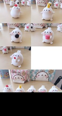 Molang these are SO adorable