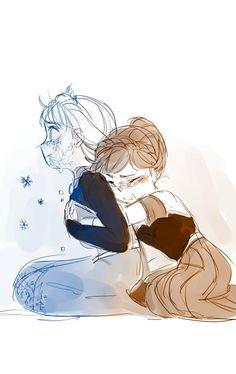 Frozen Fan Art, Frozen And Tangled, Frozen Elsa And Anna, Disney Frozen, Yuri Anime, Anime Art, Frozen Comics, Frozen Anime, Freezing Anime
