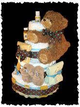 World Famous Diaper Baby Cakes - Burt's Bees Diaper Cake