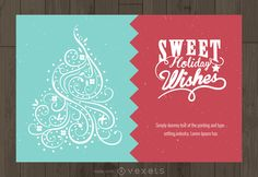 beautiful christmas card with swappable christmas elements and wishes add your text easily try card makeredit onlinebeautiful - Online Christmas Card Maker
