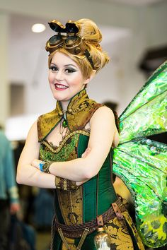 Steampunk Tinkerbell | Fan Expo 2013 by ed lau photography