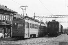 地方私鉄 1960年代の回想: 日光軌道線 山岳電機 町中を行く