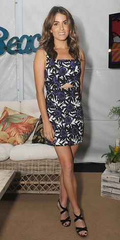 Nikki Reed Checks Out the Backstage Action in Rebecca Minkoff Different Color Dress, Fashion News, Fashion Beauty, Nikki Reed, Cutout Dress, Dressy Dresses, Who What Wear, Rebecca Minkoff, Dress Skirt