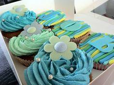 Cupcakes voor de geboorte van Job