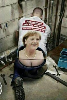 Plumber T-shirt with Angel Merkel Memes Humor, Man Humor, Funny Shit, Funny Jokes, Hilarious, Funny Stuff, Funny Photos, Funny Images, Coincidences