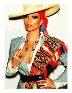 Model Kate Moss Editorial L Etoile De Lima Client/Magazine Vogue paris April 2013 Issue Shot by Mario Testino