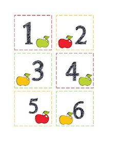 Apples Day and Months Printable  $0.99