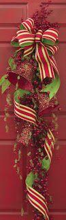 Christmas door decor shelley b decor and more: RAZ Christmas Blog