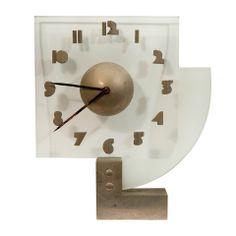 Jacques Adnet(1901-1984) Modernist Clock explore