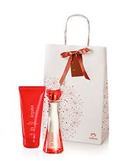 Presente Natura Kriska - Desodorante Colônia + Desodorante Hidratante Corporal + Embalagem