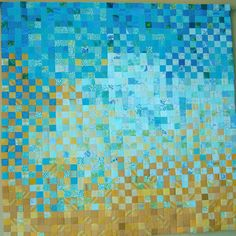 sun, sand, sea quilt by okquilts on etsy
