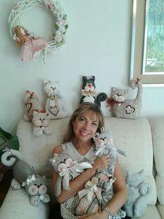 Gatos de pano -Fatto Con Amore da Laura - face