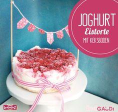Joghurt-Eistorte mit Keksboden – BackGAUDI