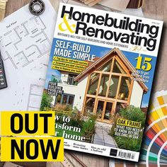 Need to work off some of those pancakes from Tuesday? Pick up Homebuilding & Renovating's 'Build Your Own Home' Starter Pack (which has a hefty 268 pages) is on sale from today!  Packaged with a Beginner's Guide to Self-build supplement and a kitchen design catalogue this month's issue is your one-stop-shop for all things homebuilding. From stunning completed projects home inspiration and design ideas to practical build advice from our team of amazing experts this issue has it all! #homebuilding