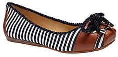 Gianni Bini Sawyer Nautical-Stripe Flats on shopstyle.com