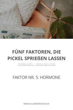 Teebaumöl |Reine Routine - Faktor Nr. 5: Hormone Peeling, Routine, Top, Organic Beauty