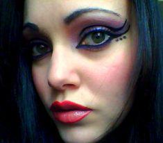 Butterfly eye makeup exp by ~AmowielTinuviel on deviantART
