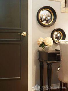 Painting Interior Doors Black!