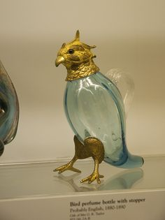 Bird Perfume Bottle - Late 19th Century