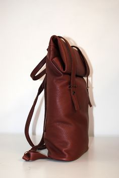 Handmade Leather Backpack Rita Sutormina