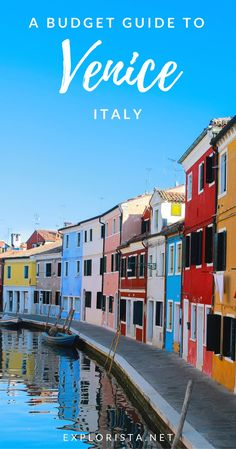From restaurants to things to do and more, here's a full guide to Venice, Italy! While it's definitely a more expensive city in Europe, it's still possible to travel on a budget. #veniceitaly #venice #italytravel