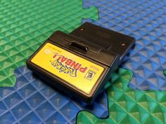 WORKS PERFECT NINTENDO GAMEBOY COLOR POKEMON PINBALL GAME W/BATTERY COVER RUMBLE
