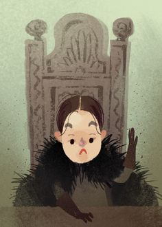 A lil fanart of everyone's new favorite character, Lady Lyanna Mormo Valar Dohaeris, Valar Morghulis, Winter Is Here, Winter Is Coming, Lady Lyanna Mormont, Harry Potter Games, Game Of Thrones Books, Kings Game, Got Game