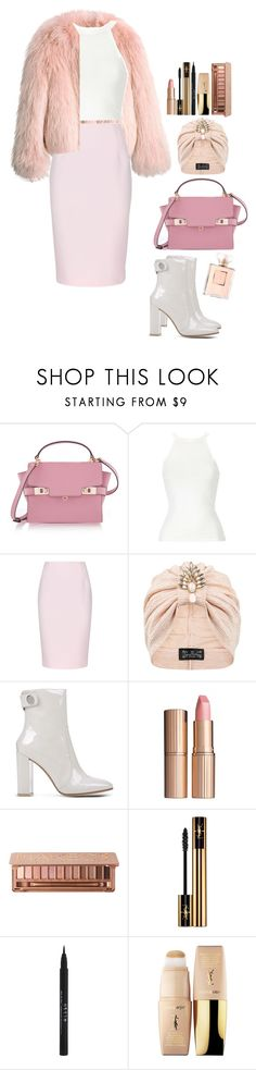 """#505"" by victoria2610 ❤ liked on Polyvore featuring Balenciaga, Henri Bendel, Finders Keepers, The Future Heirlooms Boutique, Gianvito Rossi, Charlotte Tilbury, Urban Decay, Yves Saint Laurent and Stila"
