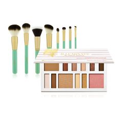 Illuminate Steal - Illuminate By Ashley Tisdale: Beach Goddess - 12 Color Eye & Cheek Collection + Illuminate by Ashley Tisdale 8 Piece Brush Set