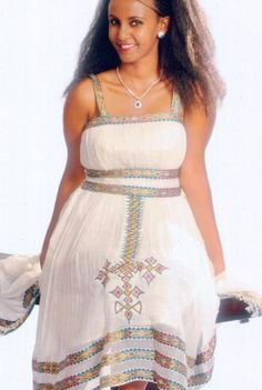 Eritrean traditional dress